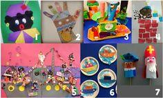 Thema Sinterklaas | 7 leuke teken- en knutselideeën! - Juf Shanna Crochet Stars, Crochet Fox, Easy Crochet, Amigurumi Tutorial, Fox Pattern, Diy Tutorial, Decoupage, School, Single Crochet