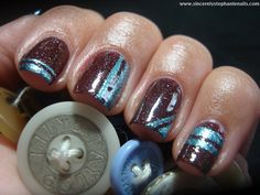 piCture pOlish Demeter with Wet n Wild None of Your Bismuth
