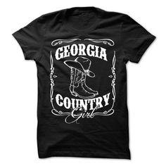 Georgia Country Girl T-Shirts, Hoodies, Sweatshirts, Tee Shirts (19$ ==► Shopping Now!)