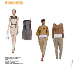 Romantic outfits catwalk inspired on www.piustyle.com