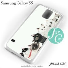 Cute Cats Phone case for samsung galaxy S3/S4/S5