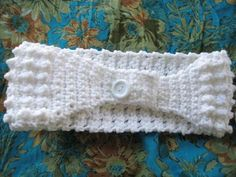 Super Easy Textured Crochet Ear warmer/Headband (pdf pattern for sale)