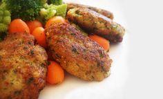 Τονοκεφτέδες με καρότο. Ένας υπέροχος μεζές αλλά και κυρίως πιάτο. Μια συνταγή για διαφορετικούς αλλά πεντανόστιμους κεφτέδες με τόνο και καρότο για να Tandoori Chicken, Sausage, Meat, Ethnic Recipes, Food, Sausages, Essen, Yemek, Meals
