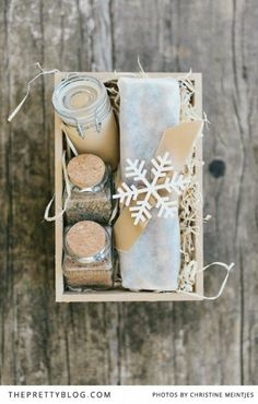 Herb salt, Sweet mustard, Florentine chocolate bars