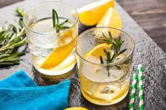 Rosemary Lemonade from Memorial Day BBQ: Our Best Recipes for Summer's First Big Cookout Brunch Recipes, Cocktail Recipes, Dog Food Recipes, Brunch Ideas, Rosemary Lemonade, Homemade Liquor, Buttermilk Chicken, Fat Burning Foods, Easy Food To Make
