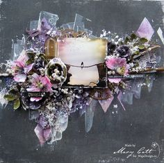 Mary's Crafty Moments: ''Imagine'' - DT Layout for Maja Design May Inspir...