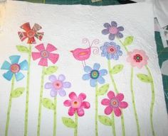 Wouldn't this be a wonderful quilt for little girls?  :)