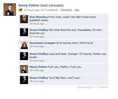 OMG Drarry, a really disturbing person created this ship.<<< disturbing people are the best. Non drarry shippers are the true villains. Harry Potter Texts, Harry Potter Ships, Harry Potter Universal, Harry Potter Fandom, Harry Potter World, Harry Potter Hogwarts, Harry Potter Draco Malfoy, Drarry Smut, Drarry Fanfiction