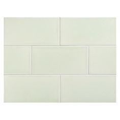 "Complete Tile Collection Vermeere Ceramic Tile - Lime Juice - Crackle, 3"" x 6"" Manhattan Ceramic Tile, MI#: 199-C1-312-101, Color: Lime Juice"
