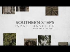 Amir Tsarfati: Israel Unveiled: Southern Steps - YouTube Sea Of Galilee, Israel, Bible, Social Media, Steps Youtube, Jesus Saves, Romans, Beautiful Places, Southern