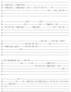 Trying to learn sasy guitar solos? Each song in this list has its own tab and demo/tutorial video so you can learn all of them on one page. Guitar Tabs Songs, Music Theory Guitar, Guitar Notes, Guitar Sheet Music, Guitar Solo, Guitar Chords And Scales, Guitar Chords And Lyrics, Guitar Chords Beginner, Guitar Chord Progressions