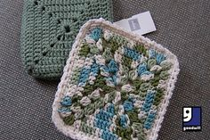 Make these pot holders with thrifted yarn...or if you're short on time simply pick up already made ones from your local #Goodwill!