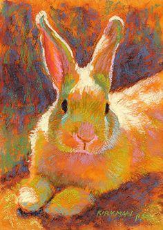 Sunny Bun by Rita Kirkman Pastel ~ 7 x 5 inches
