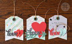 Reverse Confetti | Tag Me, Heart to Heart, Heart Love Pretty Panels, and Arrow Confetti Cuts