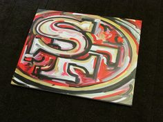 San Francisco 49ers Painting by Justin Patten by stormstriker