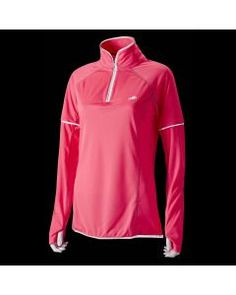 Hi Viz Womens L/S Zip Top in Pink Women's Equestrian, Equestrian Outfits, Horse Riding Clothes, Polo Blue, Polo Shirt Women, Grey Sweatshirt, Gray Jacket, Black Tops, Long Sleeve Tops