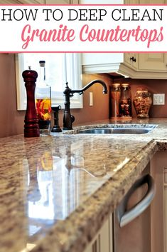 Have Your Granite Countertops Lost Their Shine Check Out How To Deep Clean