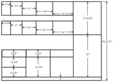 Kitchen Cabinets Dimensions 10 x 10 standard kitchen dimensions - cabinet sense - ready to