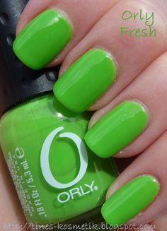 limegreen.quenalbertini: Orly Happy Go Lucky | Tines Kosmetik