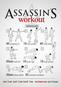 Assains workout