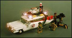 Lego Ghostbusters Ecto-1 by Adam Grabowski via Flickr