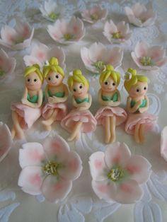 Cupcake Topper Fairies