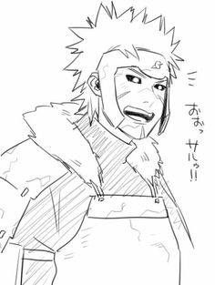 Tobirama with Hashirama's smile is actually kind of terrifying