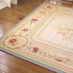 antique french tapestry rug
