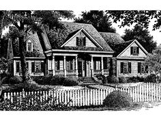 Eplans Colonial House Plan - Valleydale from The Southern Living