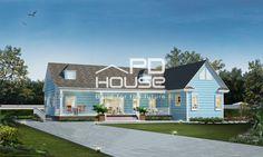 แบบบ้าน W-143, บ้าน 1 ชั้น, ห้องนอน 2 ห้อง, ห้องน้ำ 3 ห้อง, พื้นที่ใช้สอย 228 ตารางเมตร, ขนาดที่ดิน 106 ตารางวา, กว้าง 23.8 เมตร, ยาว 17.9 เมตร