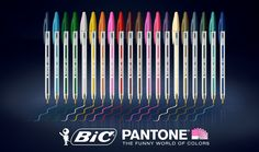 BIC Pantone