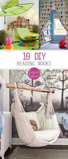 Reading Nooks, DIY R