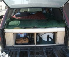 If you have a truck with a topper, this instructable will show you how to design and build a sleeping platform for the bed of your truck. The platfor...