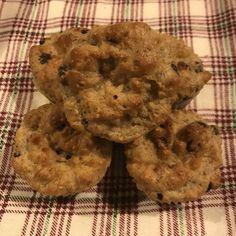 Gluten-free, Sugar-free Chocolate Chip Muffins