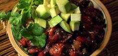 Винегрет с авокадо Cobb Salad, Salads, Beef, Food, Sorting, Meat, Essen, Meals, Yemek