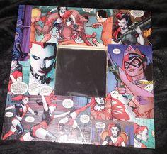 Items similar to Harley Quinn frame mirror comic strip decoupage on Etsy Harley Quinn Comic, Comic Strips, Decoupage, My Etsy Shop, Comic Books, Mirror, Comics, Shopping Mall, Etsy Handmade