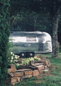 1966 Airstream Overlander Vintage Camper Installation Airstream