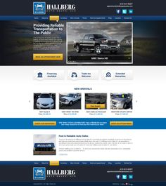 Are you looking into buying a car? Then Hallberg Auto Sales, LLC is the right place for you. They provide reliable transportations that won't put a hole in your pocket or bring you into an automotive pitfall. Feel comfortable from buying at Hallberg Auto & Sales, LLC.  For more #webdesigns visit us at www.customadesign.com