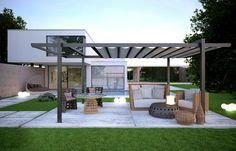 25 Aluminum Pergola Design Ideas                                                                                                                                                      More