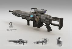 ArtStation - Some concept designs, Pengzhen Zhang Sci Fi Weapons, Armor Concept, Weapon Concept Art, Weapons Guns, Guns And Ammo, Objet Star Wars, Airsoft, Cyberpunk, Armas Wallpaper