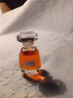 Vintage Bottle TROUBLE Mini Pure PERFUME .1 FL OZ  2.96 ml