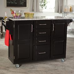 Kitchen Island On Wheels   I Want This But Wider And In Red