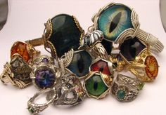 Some of my work that I love making all of the different designs, stones, metal, wire I have a chance to work with and all of the people that I get to make things for I feel so lucky to beadle to make jewelry for others  www.etsy.com/shop/JandSGems