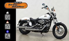 2016 HARLEY-DAVIDSON FXDB in Crushed Ice Pearl At Auckland Harley-Davidson,  New Zealand www.amps.co.nz