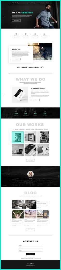 The crazy is a modern, beautiful and colorful 4in1 responsive HTML5 #bootstrap template for #freelancers, #web agencies or studios websites download now➩ https://themeforest.net/item/the-crazy-creative-agency-html5-template/19277506?ref=Datasata