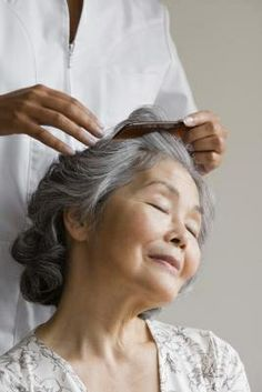 How to Make Your Grey Hair Shine.