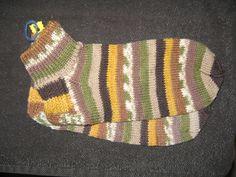 Handgestrickte Socken Gr. 42/43 von Heike`s Zauberwerkstatt auf DaWanda.com