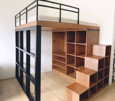 Small apartment solutions Solutions for small apartments White Stone Studios – Modern Micro Apartments in DBedroom ideas for small room apartments small houseMany creative storage solutions for small spaces W Bedroom Loft, Bedroom Decor, Bedroom Wardrobe, Bedroom Storage, Bedroom Organization, Kids Bedroom, Loft Room, Wardrobe Storage, Design Bedroom