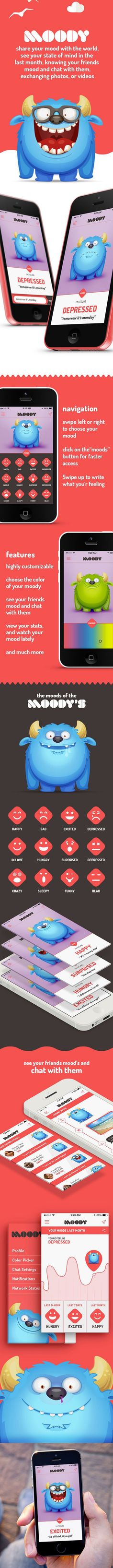 Moody App Published by John Stone