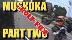 [ CBR500R RIDE ] Muskoka Group Ride Part Two